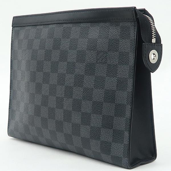 Louis Vuitton(루이비통) N41696 다미에 그라파이트 캔버스 포쉐트 보야주 MM 클러치 [강남본점] 이미지3 - 고이비토 중고명품