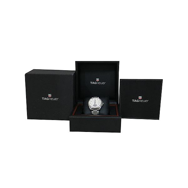 Tag Heuer(태그호이어) WAV511B BA0900 GARND CARRERA (그랜드까레라) 화이트 다이얼 바 인덱스 데이트 오토매틱 스틸 브레이슬릿 남성용 시계 [대구동성로점]