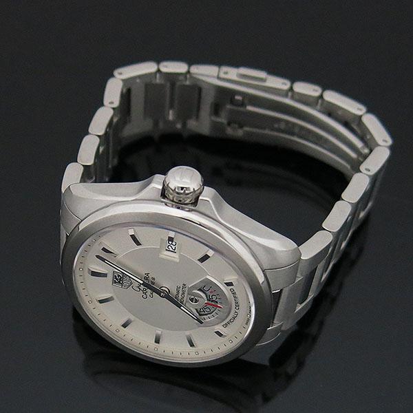 Tag Heuer(태그호이어) WAV511B BA0900 GARND CARRERA (그랜드까레라) 화이트 다이얼 바 인덱스 데이트 오토매틱 스틸 브레이슬릿 남성용 시계 [대구동성로점] 이미지3 - 고이비토 중고명품
