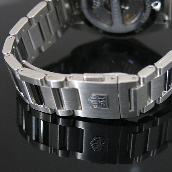Tag Heuer(태그호이어) WAV511B BA0900 GARND CARRERA (그랜드까레라) 화이트 다이얼 바 인덱스 데이트 오토매틱 스틸 브레이슬릿 남성용 시계 [대구동성로점] 이미지6 - 고이비토 중고명품