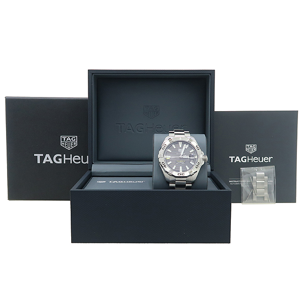 Tag Heuer(태그호이어) WBD2113-0 아쿠아레이서 칼리버 5 오토매틱 스틸 남성용 시계 [강남본점]
