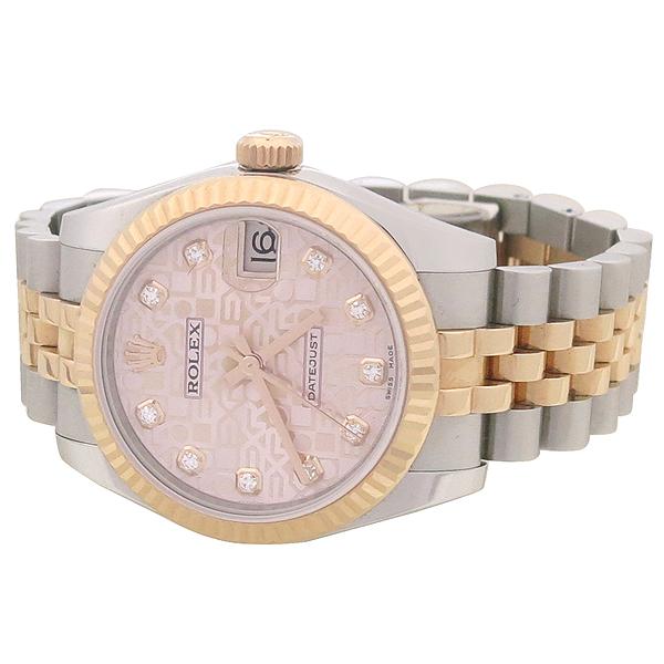 Rolex(로렉스) 178271 데이저스트 핑크골드 18K 콤비 10포인트 다이아 셋팅 중형 여성용 시계 [강남본점] 이미지3 - 고이비토 중고명품