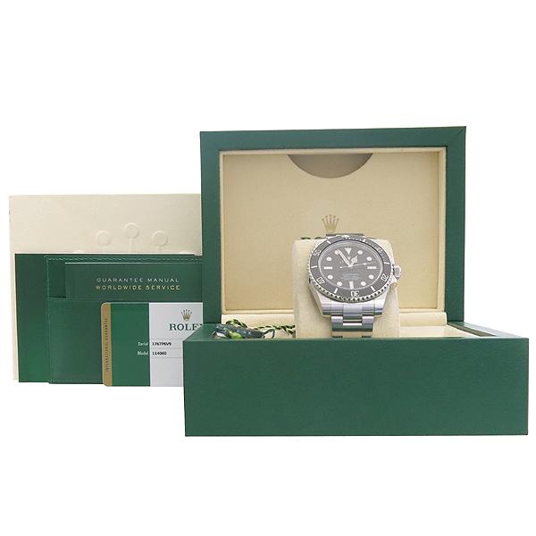 Rolex(로렉스) 114060 서브마리너 NON-DATE 블랙 세라믹 베젤 스틸 남성용 시계 [강남본점]