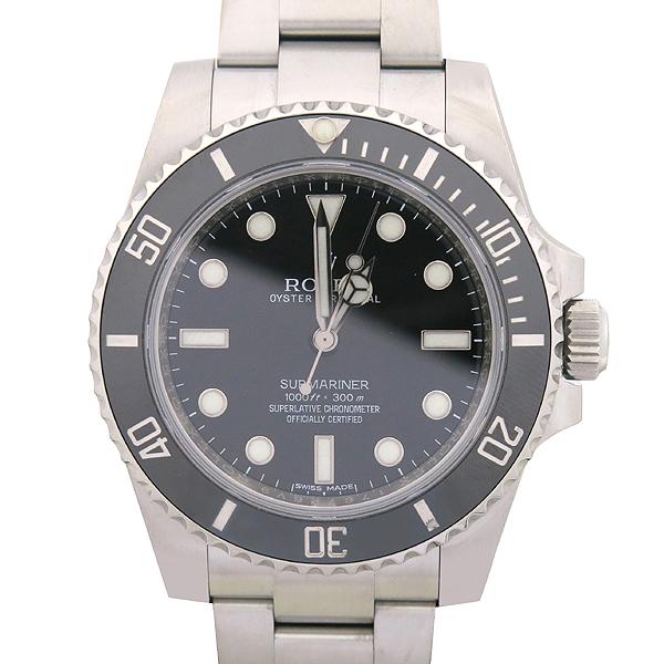 Rolex(로렉스) 114060 서브마리너 NON-DATE 블랙 세라믹 베젤 스틸 남성용 시계 [강남본점] 이미지2 - 고이비토 중고명품