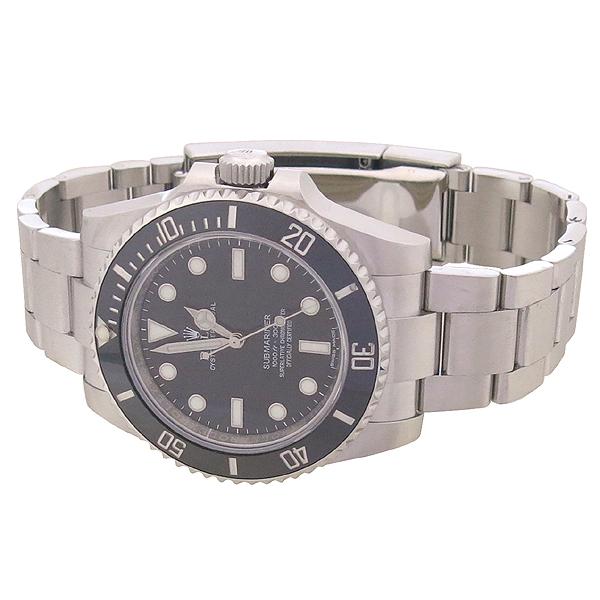 Rolex(로렉스) 114060 서브마리너 NON-DATE 블랙 세라믹 베젤 스틸 남성용 시계 [강남본점] 이미지3 - 고이비토 중고명품