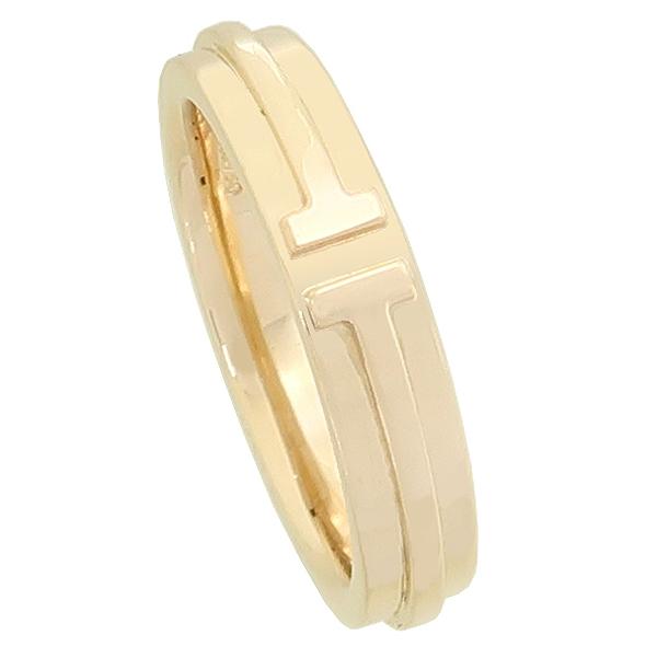 Tiffany(티파니) 18K 옐로우 골드 Two 내로우 링 반지-19호 [강남본점] 이미지2 - 고이비토 중고명품