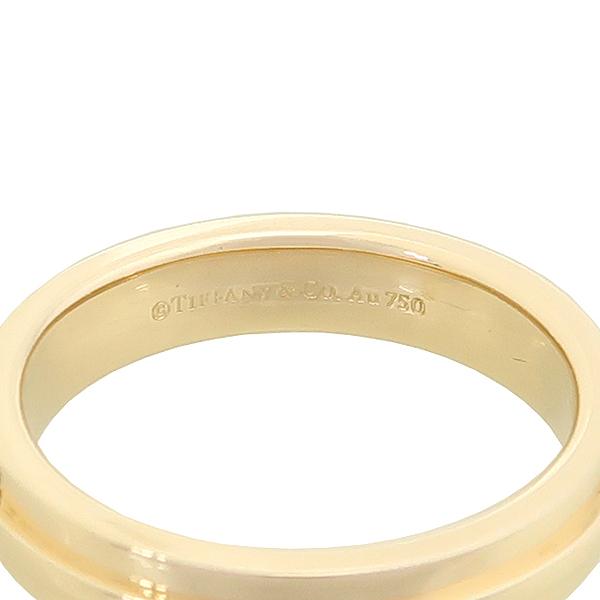 Tiffany(티파니) 18K 옐로우 골드 Two 내로우 링 반지-19호 [강남본점] 이미지3 - 고이비토 중고명품