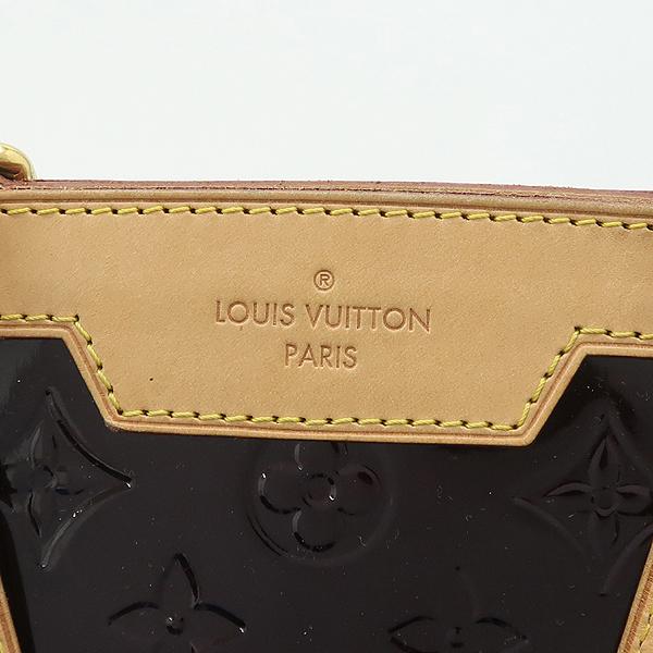 Louis Vuitton(루이비통) M91616 모노그램 베르니 아마랑뜨 브레아 GM 토트백 + 숄더 스트랩 2WAY [강남본점] 이미지4 - 고이비토 중고명품