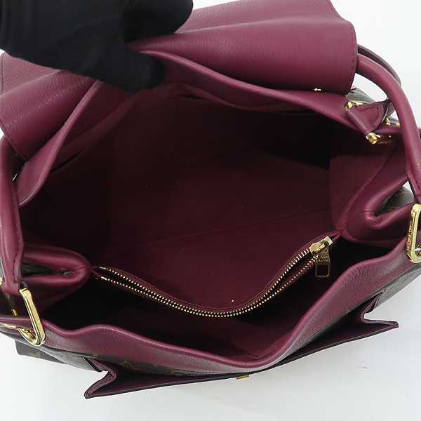 Louis Vuitton(루이비통) M40816 모노그램 캔버스 Bordeaux 보르도 퍼플 컬러 OLYMPE 올랑프 토트백 [강남본점] 이미지5 - 고이비토 중고명품