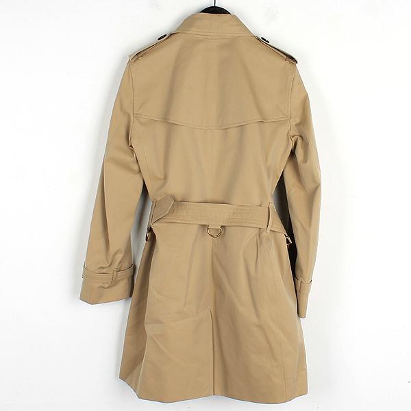 Burberry(버버리) 3900461 KENSINGTON(켄싱턴) 베이지 컬러 여성용 트렌치 코트(벨트set) [잠실점] 이미지3 - 고이비토 중고명품