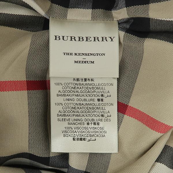 Burberry(버버리) 3900461 KENSINGTON(켄싱턴) 베이지 컬러 여성용 트렌치 코트(벨트set) [잠실점] 이미지5 - 고이비토 중고명품