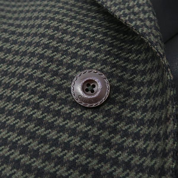 Gucci(구찌) 322620 울 100% 그레이 컬러 하운드투스 체크 남성용 코트 [강남본점] 이미지4 - 고이비토 중고명품
