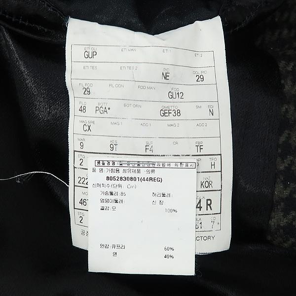 Gucci(구찌) 322620 울 100% 그레이 컬러 하운드투스 체크 남성용 코트 [강남본점] 이미지6 - 고이비토 중고명품