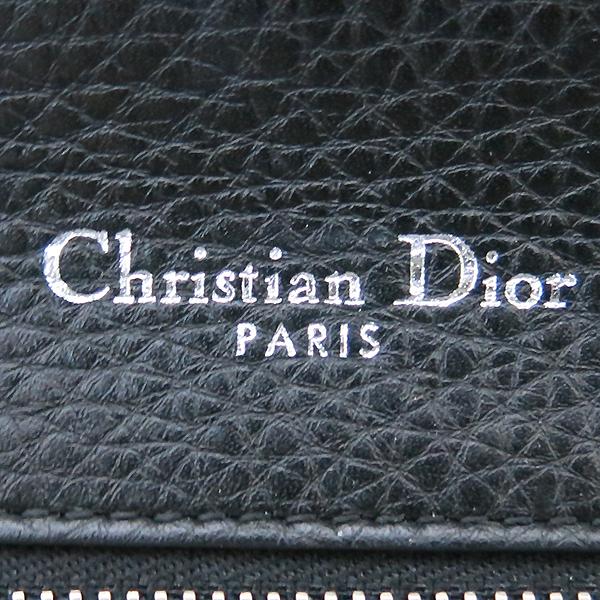 Dior(크리스챤디올) M0422OVKK 디올라마 블랙 레더 플랩 체인 숄더백 [부산센텀본점] 이미지4 - 고이비토 중고명품