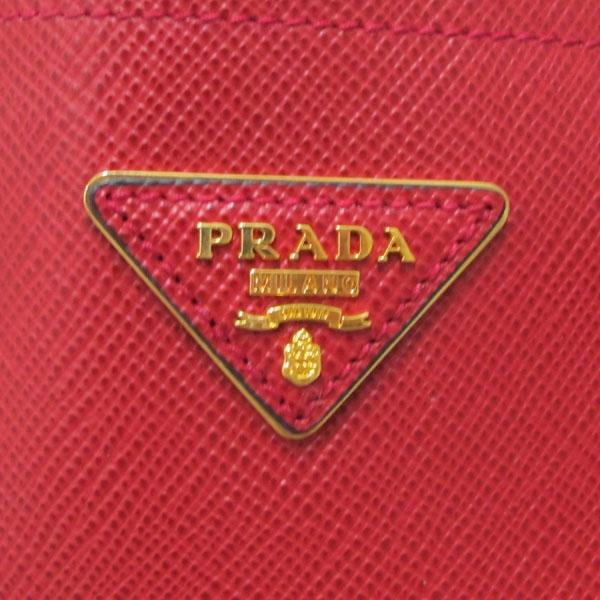 Prada(프라다) BN2775 SAFFIANO CUIR FUOCO 사피아노 레드 금장 삼각로고 두블레 토트백 + 숄더스트랩 [대구반월당본점] 이미지5 - 고이비토 중고명품