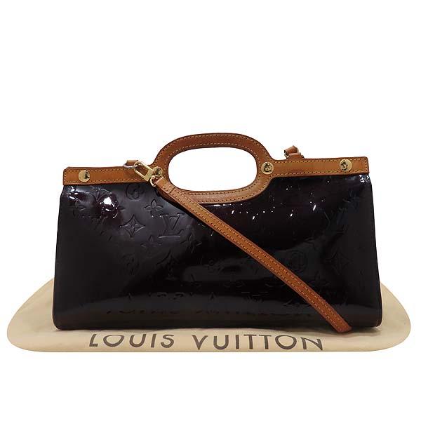 Louis Vuitton(루이비통) M91995 모노그램 베르니 아마랑뜨 룩스부리 드라이브 2WAY [인천점]