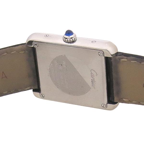 Cartier(까르띠에) W5200005 솔로탱크 S 사이즈 DD클립 가죽 밴드 여성용 시계 [강남본점] 이미지5 - 고이비토 중고명품