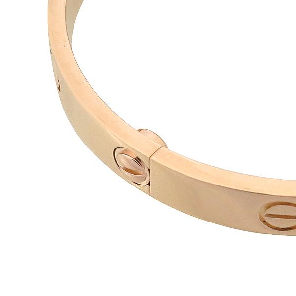 Cartier(까르띠에) 18K 로즈 골드 러브 팔찌 - 17호 [강남본점] 이미지3 - 고이비토 중고명품