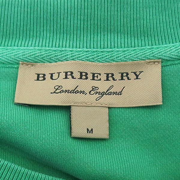 Burberry(버버리) 100%코튼 4069308 그린색상 버버리 아이스크림 프린트 스웨트셔츠 남성 맨투맨 [부산센텀본점] 이미지4 - 고이비토 중고명품