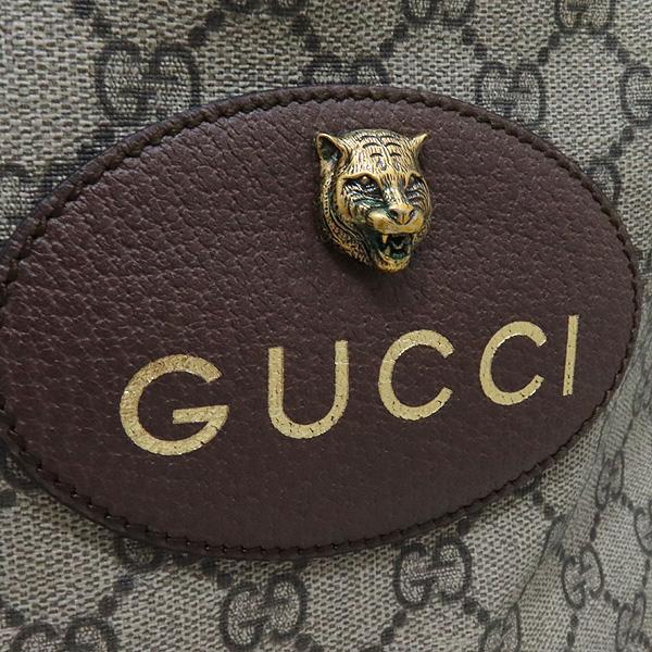 Gucci(구찌) 473868 GG로고 수프림 PVC 레더 트리밍 버킷 숄더 백팩 [인천점] 이미지4 - 고이비토 중고명품