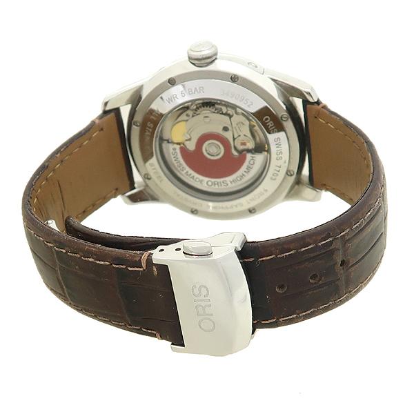 ORIS(오리스) 781 7703 40 아뜰리에 문페이즈 오토매틱 시스루백 가죽밴드 남성용 시계 [잠실점] 이미지3 - 고이비토 중고명품