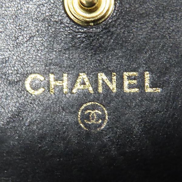 Chanel(샤넬) A80286 Y07659 94305 램스킨 블랙 컬러 보이샤넬 골드메탈 플랩 장지갑 [대전본점] 이미지6 - 고이비토 중고명품