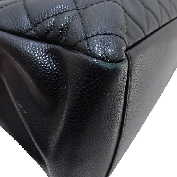 Chanel(샤넬) A50995 Y01864 블랙 캐비어 스킨 그랜드샤핑 금장 장식 로고 체인 숄더백 [인천점] 이미지5 - 고이비토 중고명품