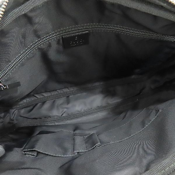 Gucci(구찌) 201852 GG로고 PVC 블랙 트리밍 인터로킹 러버로고 크로스백 [인천점] 이미지7 - 고이비토 중고명품