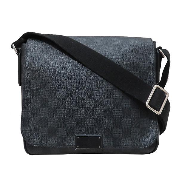 Louis Vuitton(루이비통) N41260 다미에 그라피트 캔버스 디스트릭트 PM 크로스백 [인천점] 이미지2 - 고이비토 중고명품