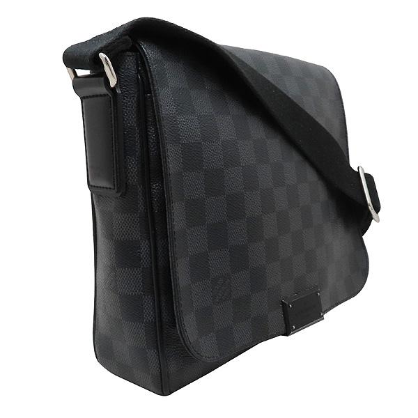 Louis Vuitton(루이비통) N41260 다미에 그라피트 캔버스 디스트릭트 PM 크로스백 [인천점] 이미지3 - 고이비토 중고명품