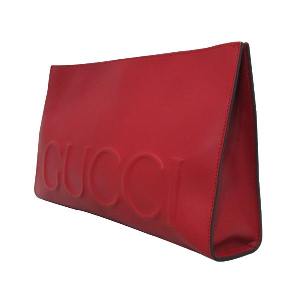 Gucci(구찌) 409382 GUCCI 로고 레드 컬러 클러치 [대구반월당본점] 이미지3 - 고이비토 중고명품
