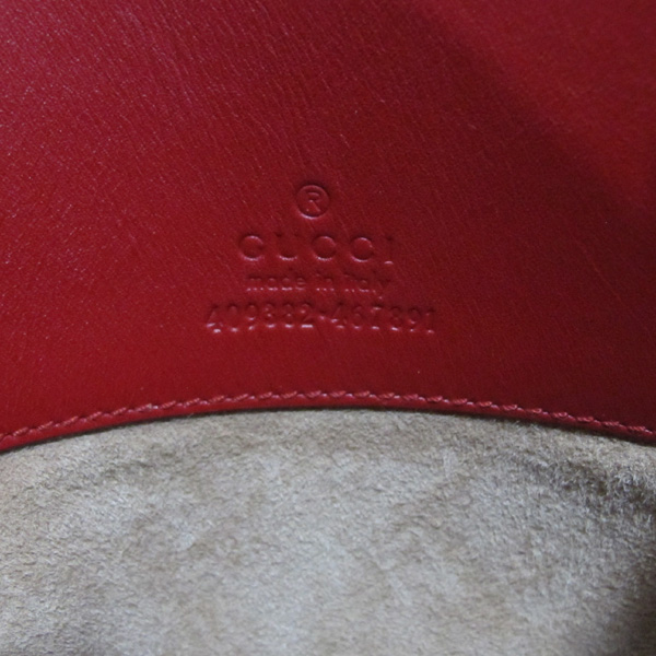 Gucci(구찌) 409382 GUCCI 로고 레드 컬러 클러치 [대구반월당본점] 이미지6 - 고이비토 중고명품