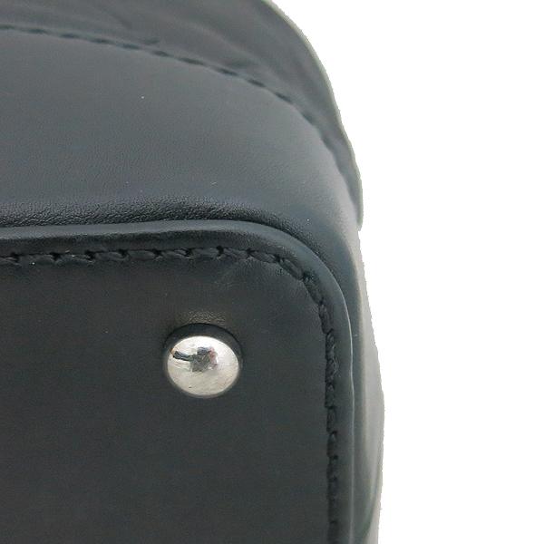 Chanel(샤넬) 2010시즌 COCO로고 자익 블랙 램스킨 스티치 플랩 체인 숄더백 [동대문점] 이미지5 - 고이비토 중고명품