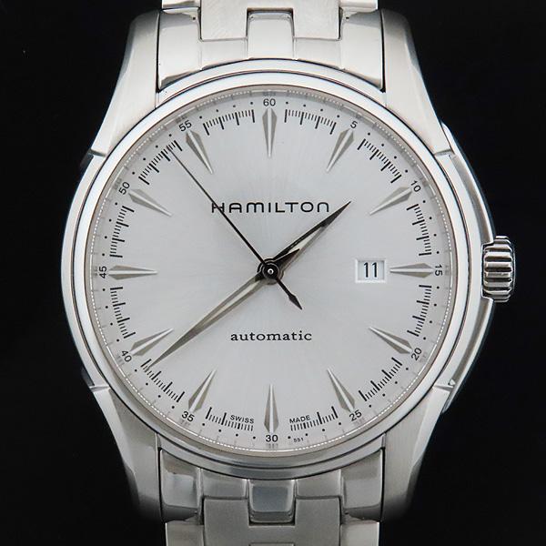 HAMILTON(해밀턴) H327150 JAZZMASTER(재즈마스터) 43MM 실버 다이얼 시스루백 데이트 스틸 오토매틱 남성용 시계 [인천점] 이미지2 - 고이비토 중고명품