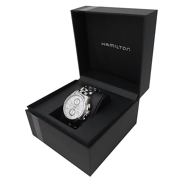 HAMILTON(해밀턴) H32616153 재즈마스터 데이트 크로노그래프 오토매틱 스틸 남성용 시계 [부산서면롯데점] 이미지2 - 고이비토 중고명품