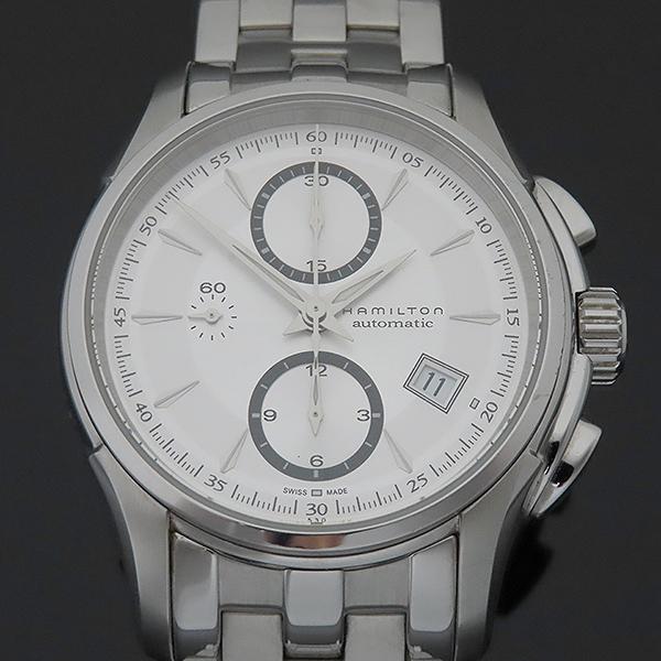 HAMILTON(해밀턴) H32616153 재즈마스터 데이트 크로노그래프 오토매틱 스틸 남성용 시계 [부산서면롯데점] 이미지3 - 고이비토 중고명품
