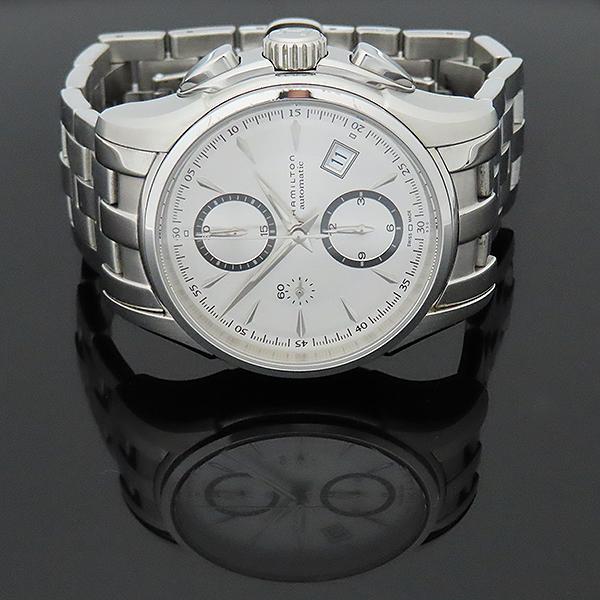 HAMILTON(해밀턴) H32616153 재즈마스터 데이트 크로노그래프 오토매틱 스틸 남성용 시계 [부산서면롯데점] 이미지4 - 고이비토 중고명품