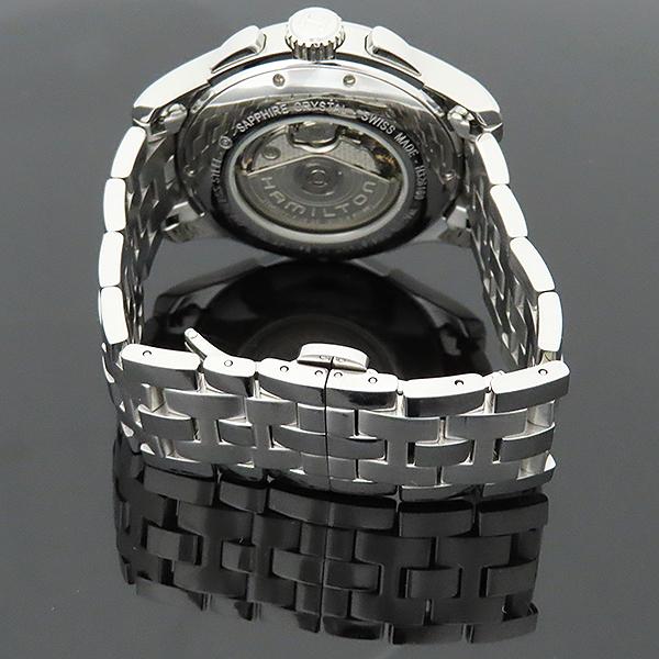 HAMILTON(해밀턴) H32616153 재즈마스터 데이트 크로노그래프 오토매틱 스틸 남성용 시계 [부산서면롯데점] 이미지5 - 고이비토 중고명품