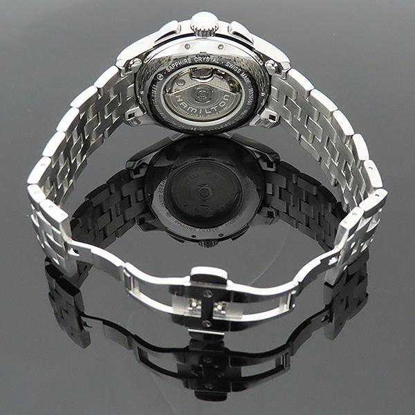 HAMILTON(해밀턴) H32616153 재즈마스터 데이트 크로노그래프 오토매틱 스틸 남성용 시계 [부산서면롯데점] 이미지7 - 고이비토 중고명품