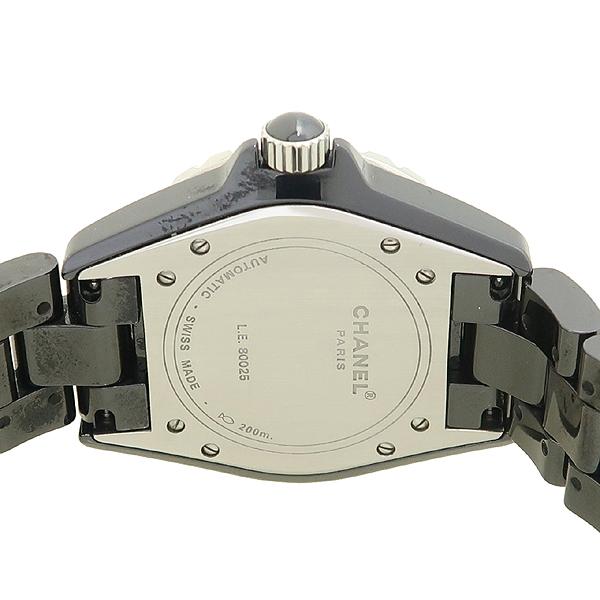 Chanel(샤넬) H1625 J12 33MM 블랙 세라믹 12포인트 다이아 남여공용 시계 [강남본점] 이미지4 - 고이비토 중고명품