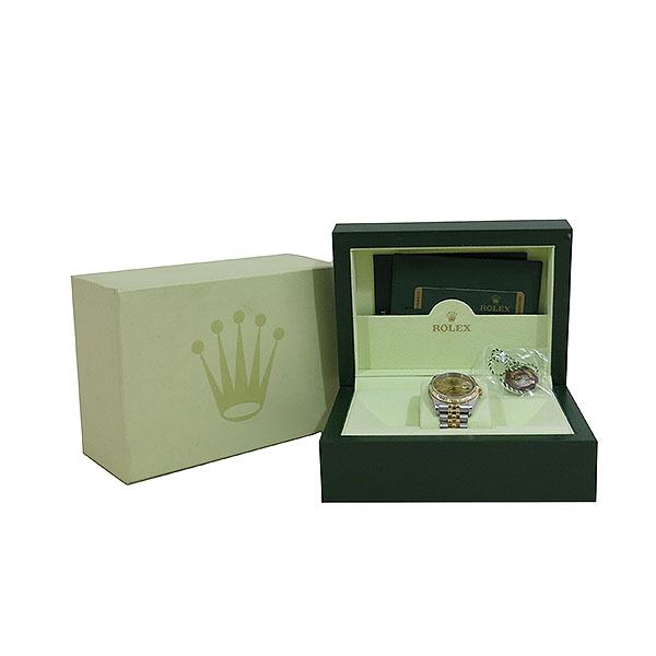 Rolex(로렉스) 116233 18K 콤비 DATEJUST(데이저스트) 로마자 남성용 시계 [대구동성로점]