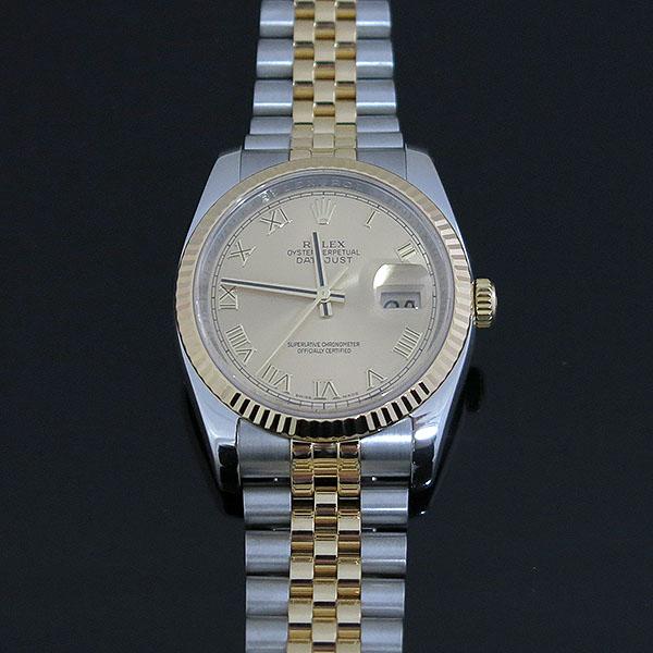 Rolex(로렉스) 116233 18K 콤비 DATEJUST(데이저스트) 로마자 남성용 시계 [대구동성로점] 이미지2 - 고이비토 중고명품
