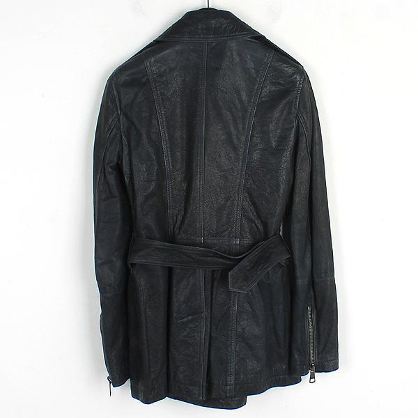 Burberry(버버리) 3824159 다크 네이비 컬러 가죽 코트 [강남본점] 이미지3 - 고이비토 중고명품