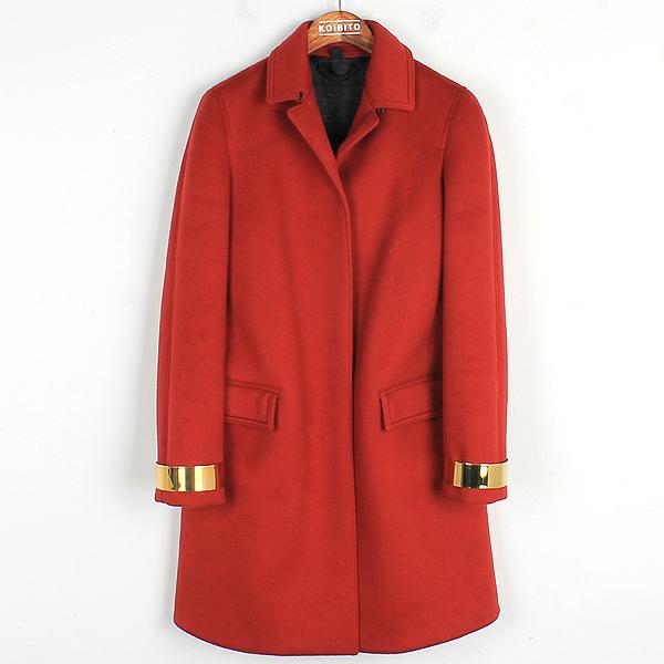 Burberry(버버리) 4496468 레드 컬러 캐시미어 여성용 코트 [강남본점]