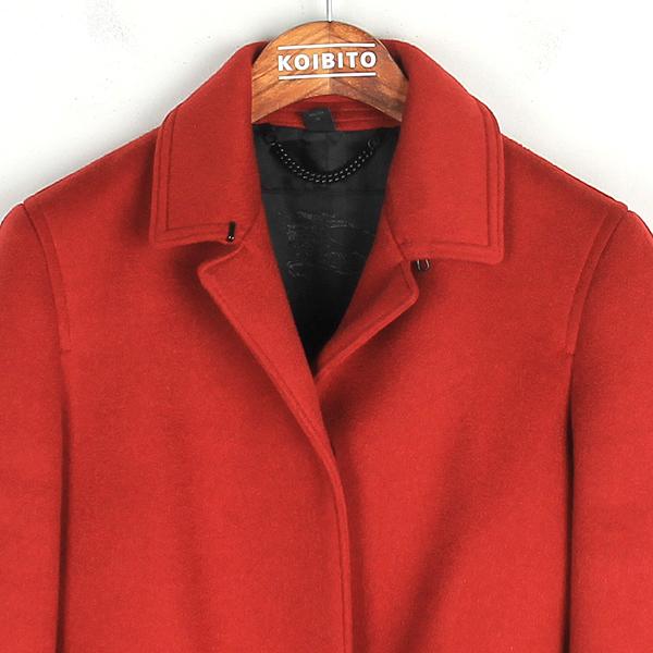 Burberry(버버리) 4496468 레드 컬러 캐시미어 여성용 코트 [강남본점] 이미지2 - 고이비토 중고명품
