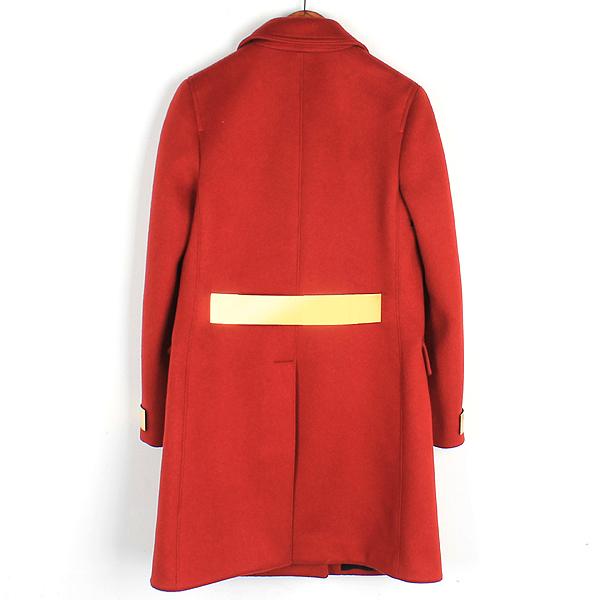 Burberry(버버리) 4496468 레드 컬러 캐시미어 여성용 코트 [강남본점] 이미지3 - 고이비토 중고명품