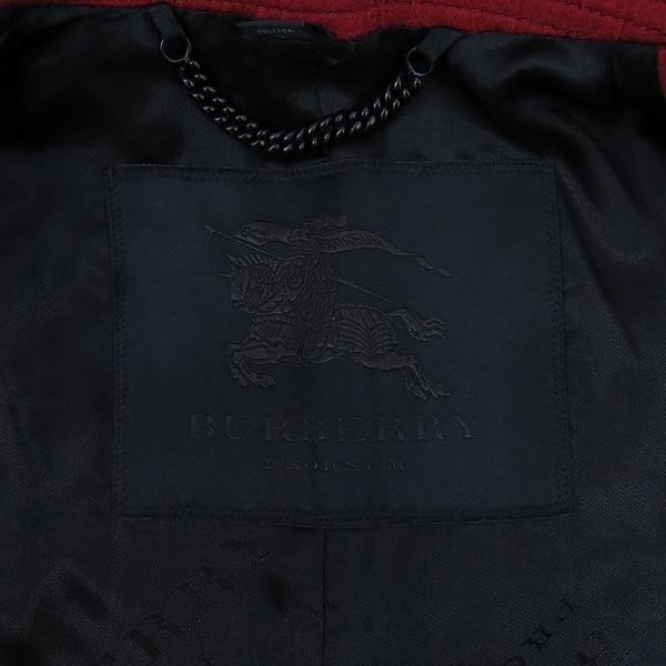 Burberry(버버리) 4496468 레드 컬러 캐시미어 여성용 코트 [강남본점] 이미지4 - 고이비토 중고명품