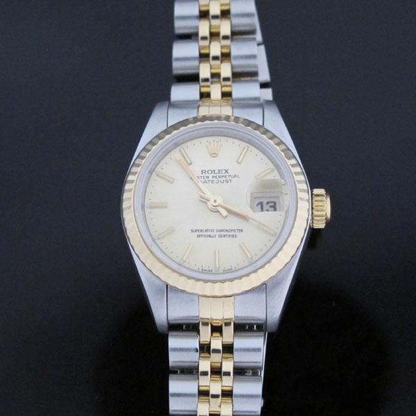 Rolex(로렉스) 69173 18K 콤비 보카시판 DATE JUST(데이트 저스트) 여성용 시계 [대구동성로점]