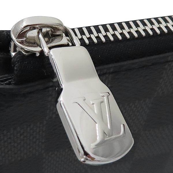 Louis Vuitton(루이비통) N64437 다미에 그라파이트 캔버스 포쉐트 주르 GM 클러치 [부산서면롯데점] 이미지4 - 고이비토 중고명품