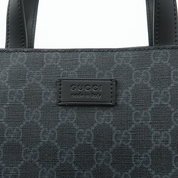 Gucci(구찌) 495559 소프트 GG 블랙 수프림 PVC 쇼퍼 토트백 + 숄더스트랩 2WAY [잠실점] 이미지4 - 고이비토 중고명품